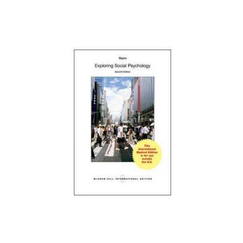 Exploring Social Psychology (9781259251580)