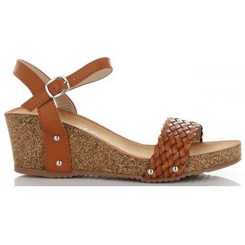 414b9c8d8dfda Lady glory Modne buty damskie na koturnie renomowanej marki rude (kolory)  89,00 zł Koturny żeńskie marki Lady Glory. Zostały produkowane z myślą o ...