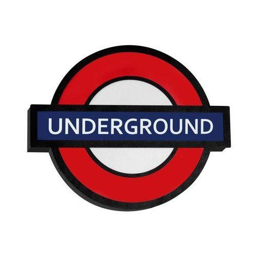 Aldex Arlet underground dziecięca 821s1 43cm czerwony-czarny (5904798636593)