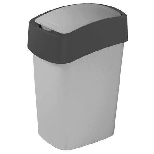 Kosz do segregacji śmieci FLIP BIN 50l szary - produkt dostępny w OLE.PL Profesjonalne Rozwiązania Higieniczne