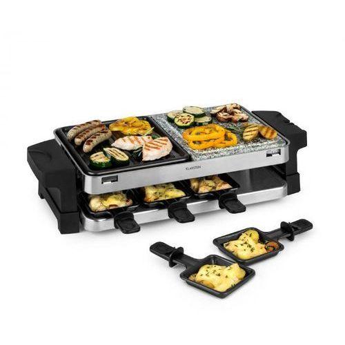 sirloin, grill raclette, aluminium/kamień, na 8 osób, lampka kontrolna led, 1500 w marki Klarstein