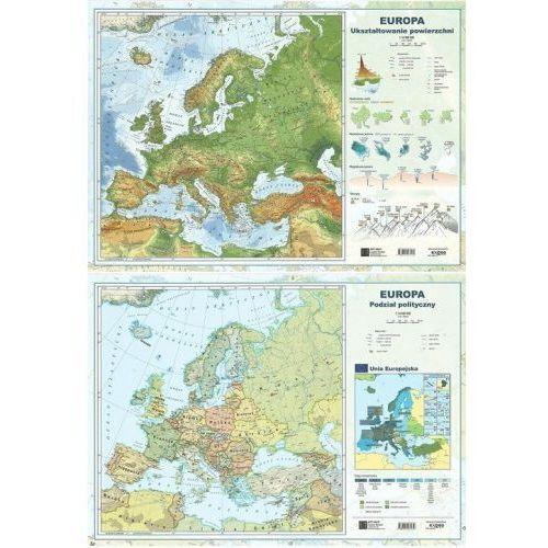 Mapa europy a2 dwustronna ścienna marki Art-map