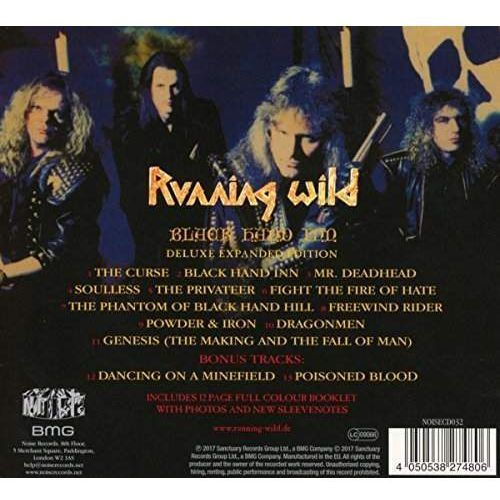 Running wild - black hand inn [cd deluxe expanded edition] marki Bmg sony music