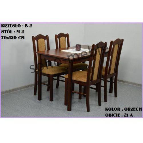ZESTAW JACEK 4 B 2 + STÓŁ M 2 70x120 CM - oferta [05532a7c07b12511]