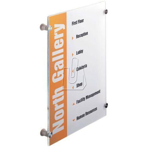 Tabliczka przydrzwiowa crystal sign a3 297x420 mm 4826 19 marki Durable