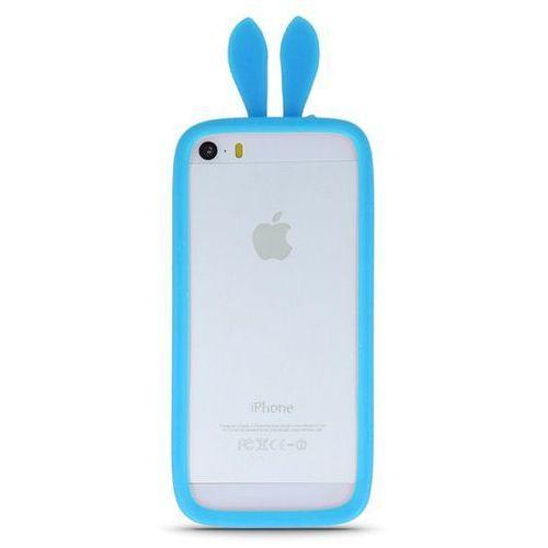 Telforceone Uniwersalny bumper królicze uszy niebieski l (10cm)