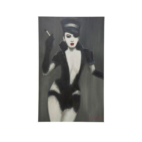 Kare Design Fetisch Lady Obraz Olejny, Lakierowane Drewno Jodły 120x75cm - 35540 (obraz)