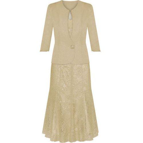 Kostium damski Eliza, elegancka kreacja na wesele, komunię. - produkt z kategorii- garsonki i kostiumy