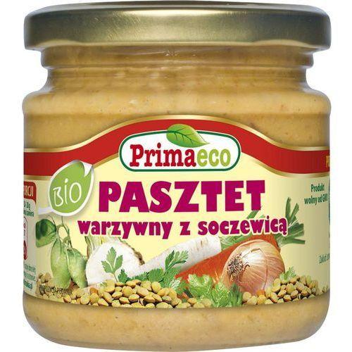: pasztet warzywny z soczewicą bio - 170 g marki Primaeco