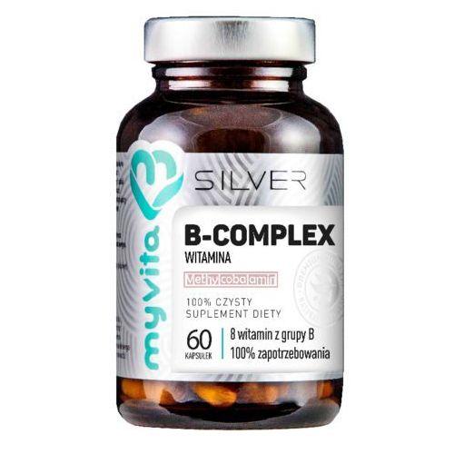 B-complex 8 witamin z grupy B 60 kapsułek MyVita Silver Pure (5903021590435)