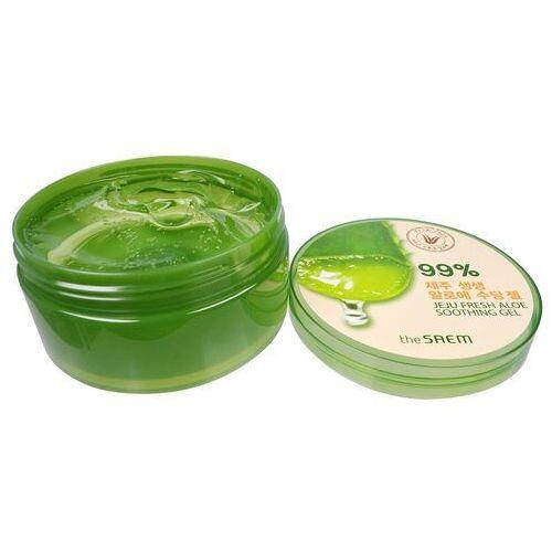 Saem The jeju fresh aloe soothing gel żel aloesowy 99% 300ml (8806164147436)