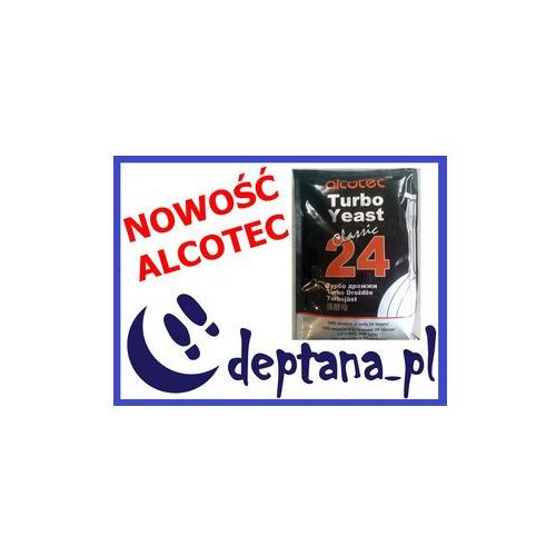 Alcotec Classic Turbo Yeast 24 drożdże gorzelnicze z kategorii akcesoria do alkoholu