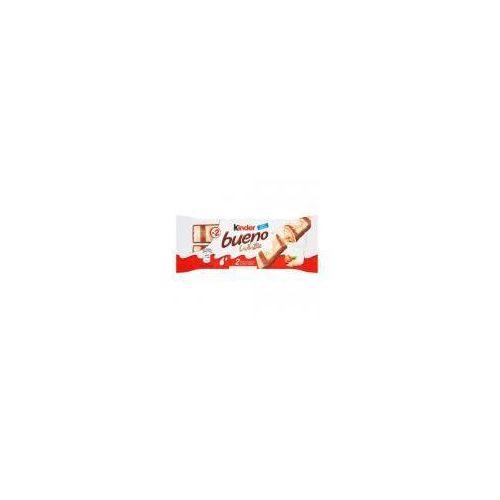 Wafel kinder bueno white pokryty białą czekoladą wypełniony nadzieniem 39 g (2 batony) marki Ferrero