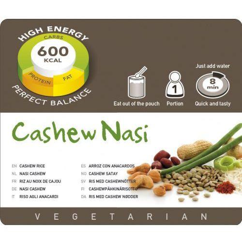 Adventure Food Cashew Nasi Żywność kempingowa jedna porcja Posiłki wegetariańskie (8717624621468)