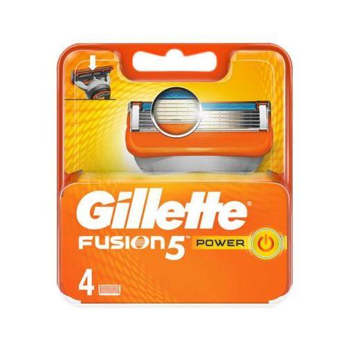 Procter & gamble Gillette 4szt fusion power wkłady do maszynki do golenia