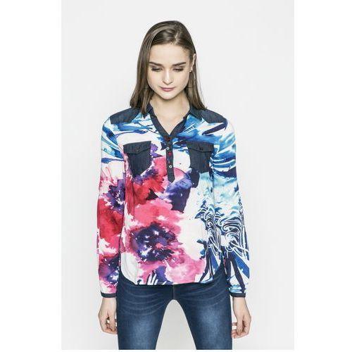 - koszula blus_ala de mariposa marki Desigual