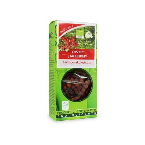 Herbatka owoc jarzębiny bio 50 g - dary natury marki Dary natury - herbaty bio