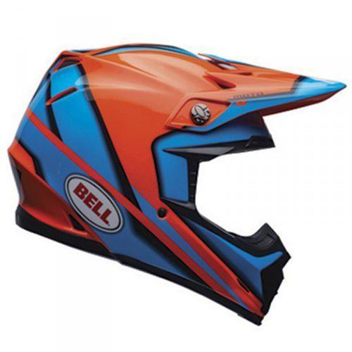 moto-9 spark orange kask motocross marki Bell