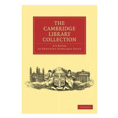 Cambridge Library Collection 475 Set