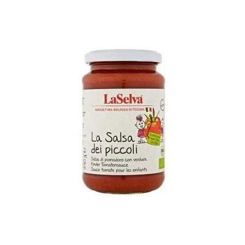 Sos pomidorowy dla dzieci BIO 340 g Laselva