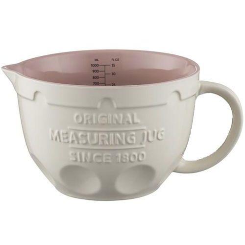 Dzbanek ceramiczny retro z miarką 1 litr innovative kitchen (2008.185) marki Mason cash