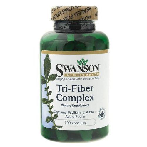 Kapsułki Swanson Tri-Fiber complex (naturalne błonniki) - 100 kapsułek