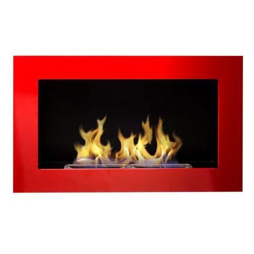 Biokominek Globmetal 650x400 czerwony połysk + GRATIS - produkt dostępny w ErgoExpert.pl