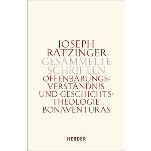 Offenbarungsverständnis und Geschichtstheologie Bonaventuras (9783451301308)