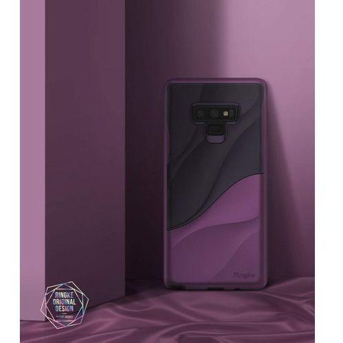 Rearth Etui ringke wave samsung galaxy note 9 metallic purple - fioletowy