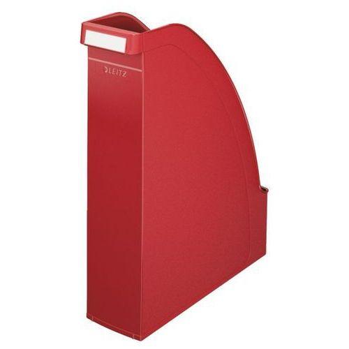 Pojemnik na dokumenty plus a4/7cm 2476-25 czerwony marki Leitz