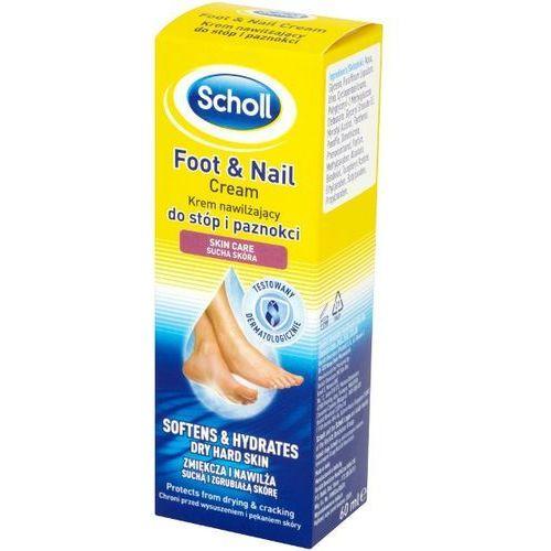 SCHOLL 60ml Krem nawilżający do stóp i paznokci sucha skóra (5052197009538)
