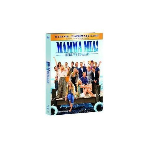 Mamma Mia Here We Go Again DVD+booklet (9788381179508)
