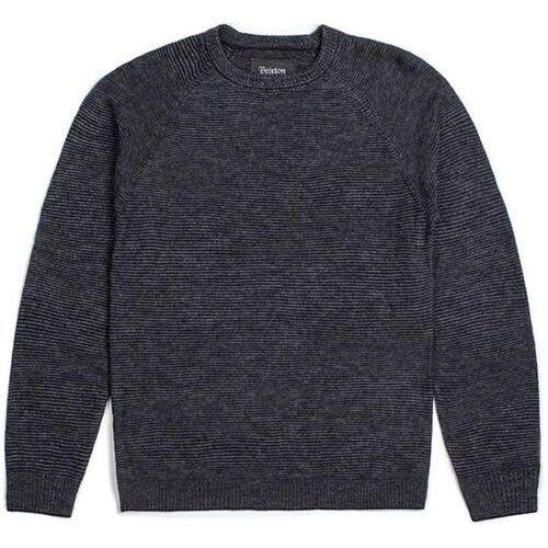 sweter BRIXTON - Anderson Sweater Grey/Black (GYBLK), kolor czarny