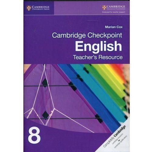Cambridge Checkpoint English Teacher's Resource 8, Cambridge University Press