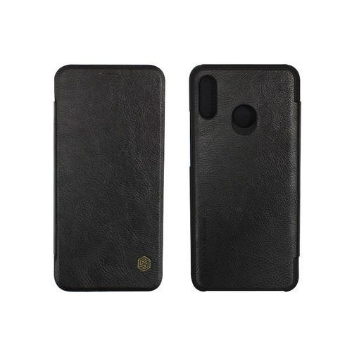 Huawei Nova 3 - etui na telefon Nillkin Qin - czarny, kolor czarny