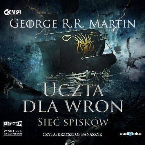 Pieśń lodu i ognia T.4 - Uczta dla wron cz.2. CD - George R.R. Martin - książka (9788381167680)