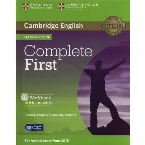 Complete First 2nd Edition. Ćwiczenia z Kluczem + CD, oprawa miękka