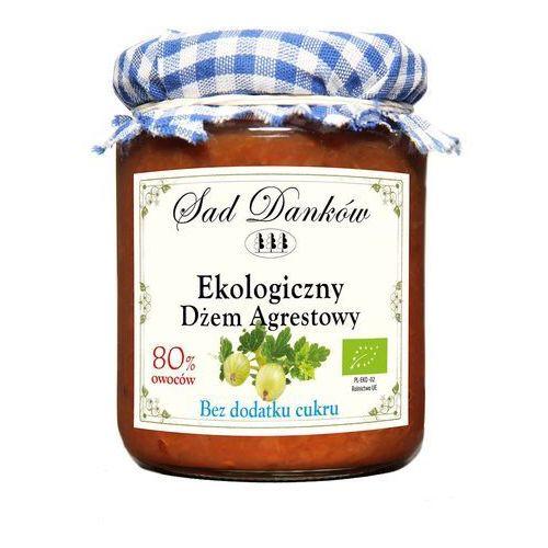 Dżem Agrestowy Ekologiczny Bez Cukru 260g BIO EKO Sad Danków (5907736737468)