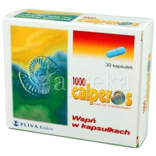 Calperos 1000 kaps. 0,4 g Ca2+ 30 kaps., produkt z kategorii- Witaminy i minerały