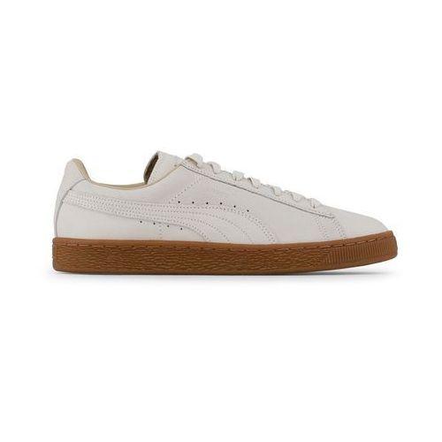 Buty męskie sneakersy suede classic 363533-01 białe, Puma