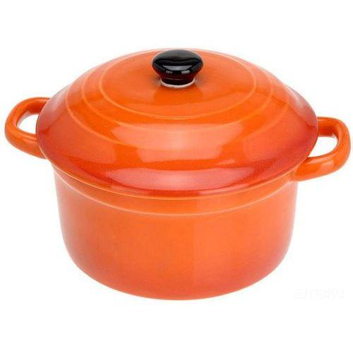 Eh excellent houseware Ceramiczny garnek z pokrywką, naczynie żaroodporne 300 ml (8711295271076)