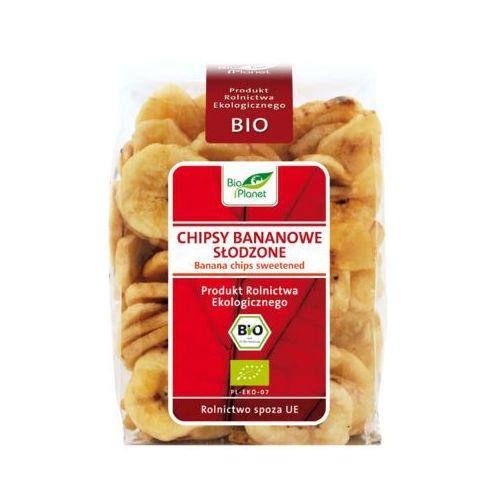 150g biokąski chipsy bananowe słodzone bio marki Bio planet