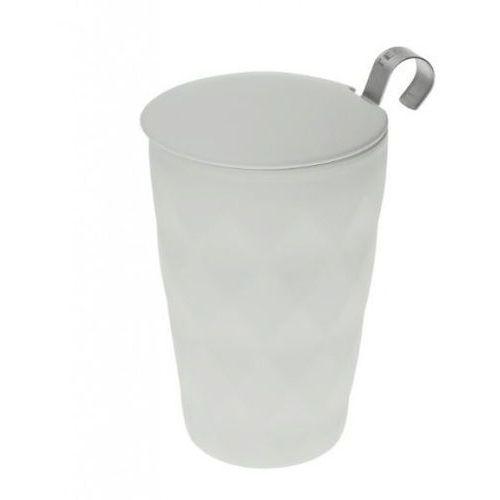 Eigenart kubek z zaparzaczem TeaEve Crystal Grey 350 ml