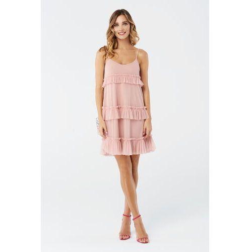 Sukienka begonia w kolorze różowym marki Sugarfree