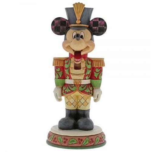 Kolekcjonerski dziadek do orzechów stalwart soldier (mickey mouse figurine) 6000946 figurka ozdoba świąteczna marki Jim shore