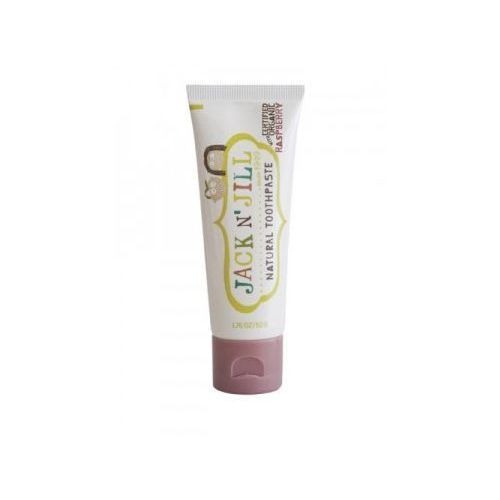 Naturalna Pasta do zębów - organiczna malina i Xylitol - 50g - Jack N'Jill (9312657007013)