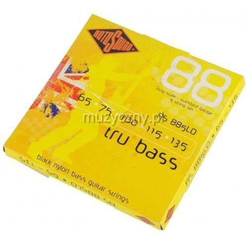 Rotosound RS 885LD Tru Bass 88 struny 65-135 powlekane nylonem