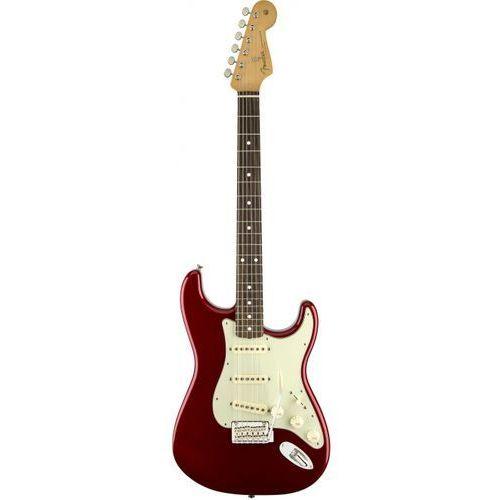 Fender 60s Classic Player Stratocaster gitara elektryczna CAR Candy Apple Red, podstrunnica palisandrowa