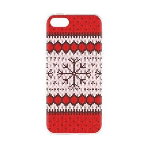 Etui FLAVR Case Ugly Xmas Sweater do Apple iPhone 5/5s/SE Czerwony (27414)