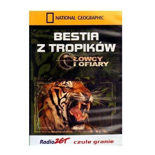 Bestia z tropików. łowcy i ofiary - dvd marki National geographic